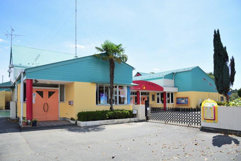 徒歩圏内にある「市貝たいよう幼稚園」