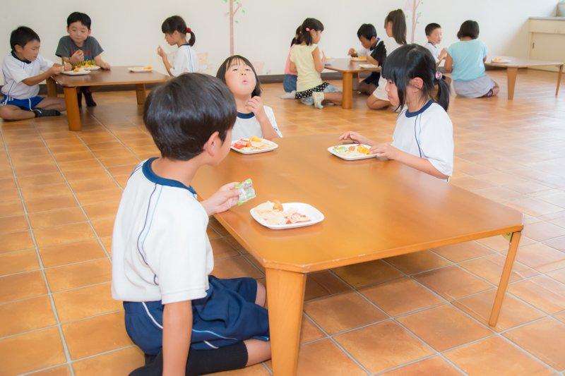 子どもたちが楽しみな手作りおやつの時間