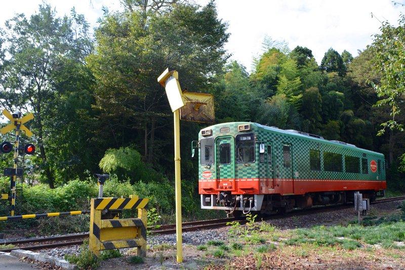 1両編成の可愛らしい真岡鉄道
